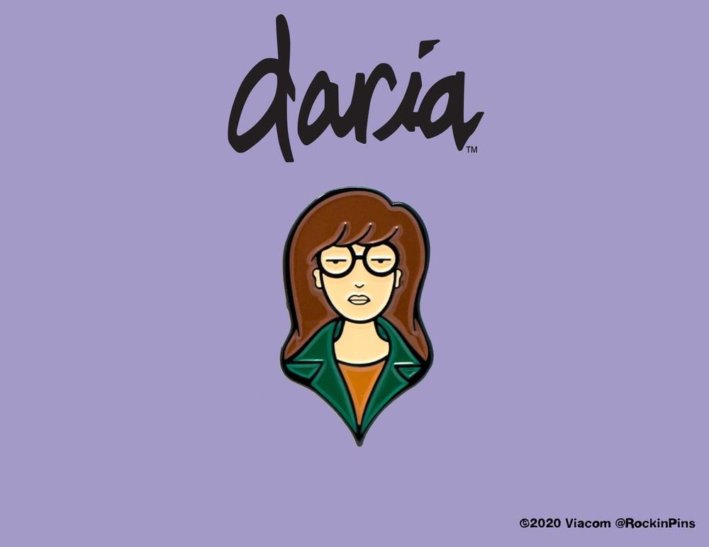 Image of Daria - Daria Head Enamel Pin