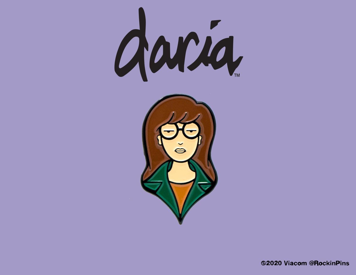 Image of Daria - Daria Head Enamel Pin
