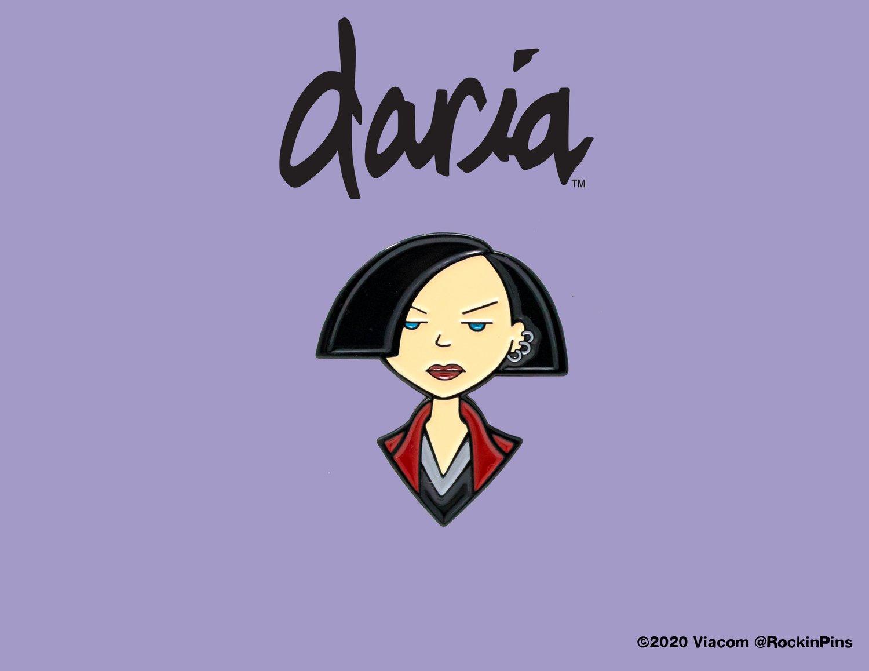 Image of Daria - Jane Lane Head Enamel Pin