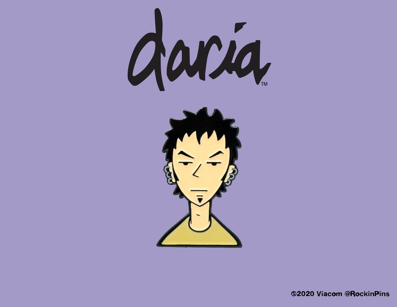 Image of Daria - Trent Lane Head Enamel Pin