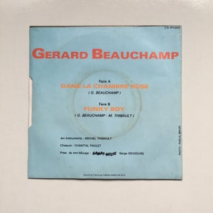 "Image of Gérard Beauchamp – Dans La Chambre Rose / Funky Boy 7"""