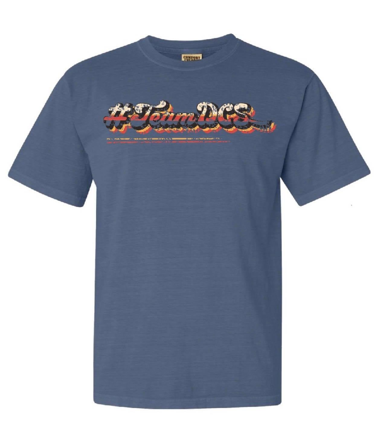 Image of #TeamDCS Vintage Shirt - Short Sleeve Comfort Color