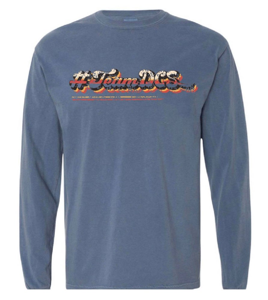 Image of #TeamDCS Vintage Shirt - LONG Sleeve Comfort Color