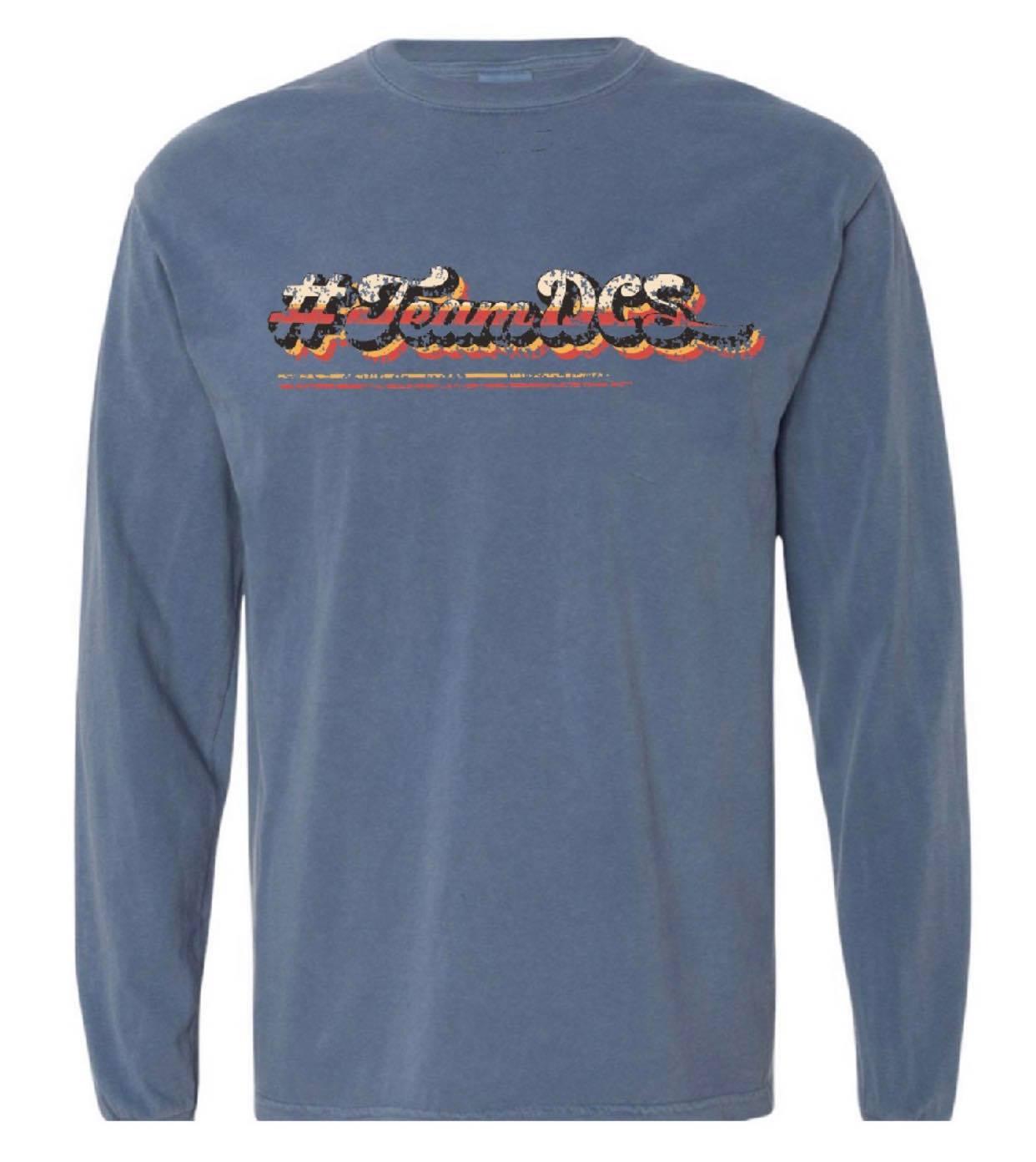 Image of #TeamDCS Vintage Shirt - LONG Sleeve Comfort Color