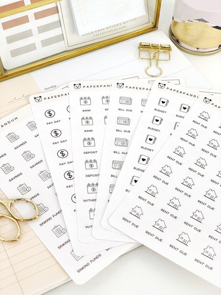Image of Finance Stickers