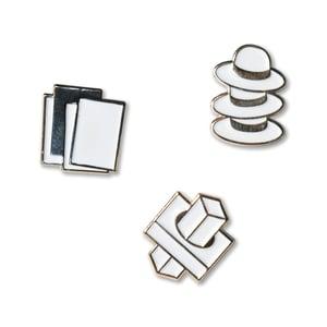 Image of Wildcards, Misfits & Dabblers enamel pins
