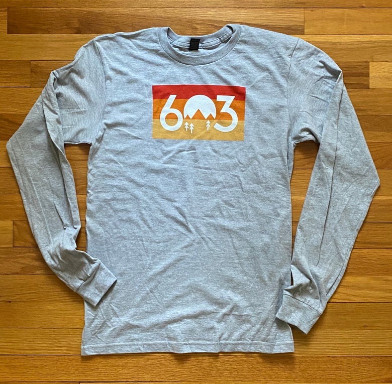 Image of 603 Sunset logo long sleeve