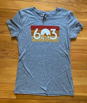 Image of Women's 603 sunset t-shirt