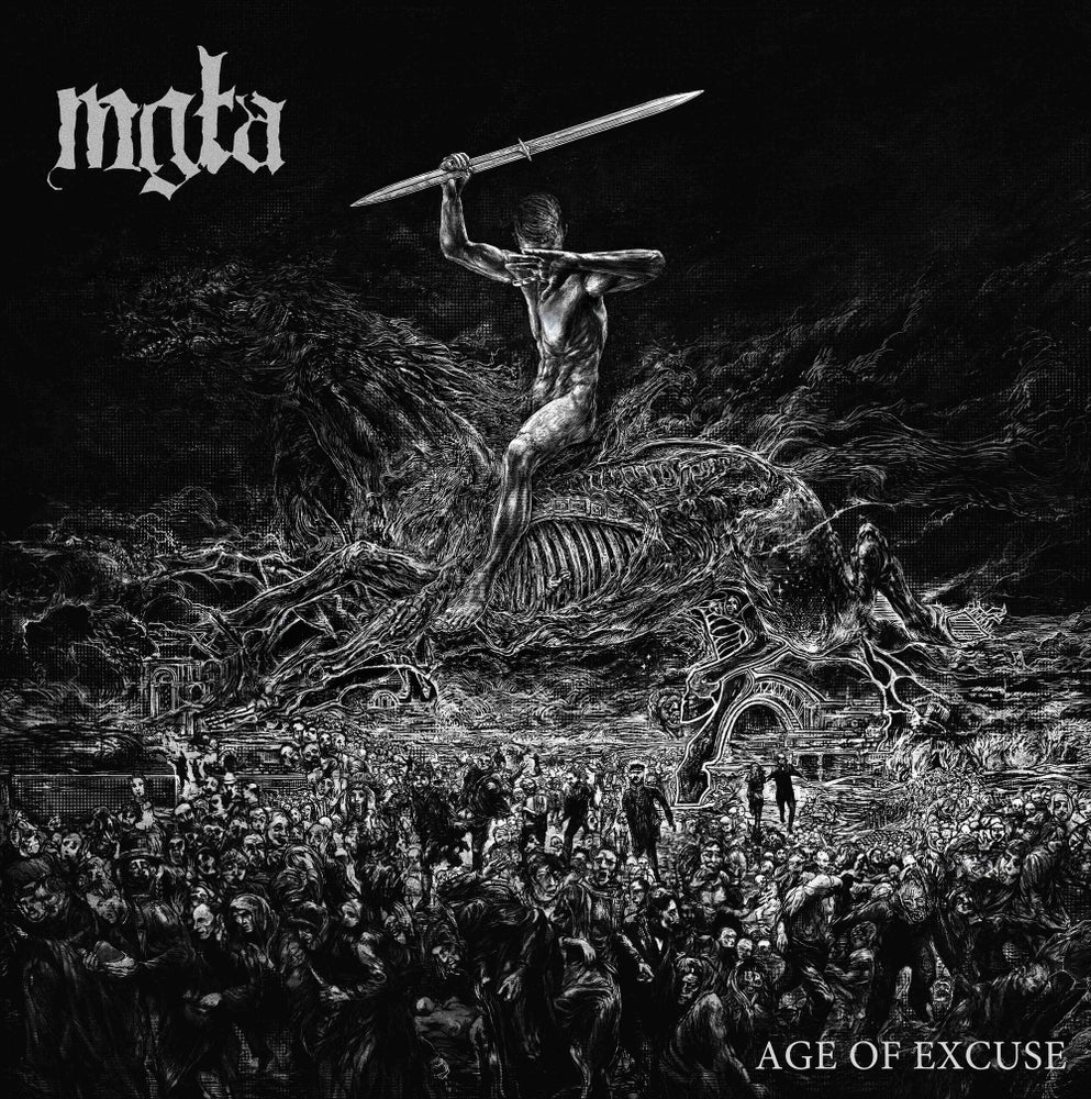 Image of MGŁA - 'Age of Excuse' 12''LP
