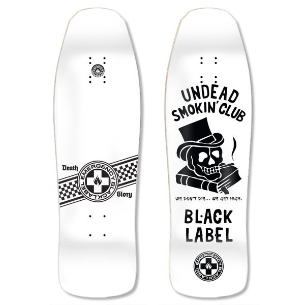 "Image of ""Undead Smoking Club"" 9.5″ White Dip"