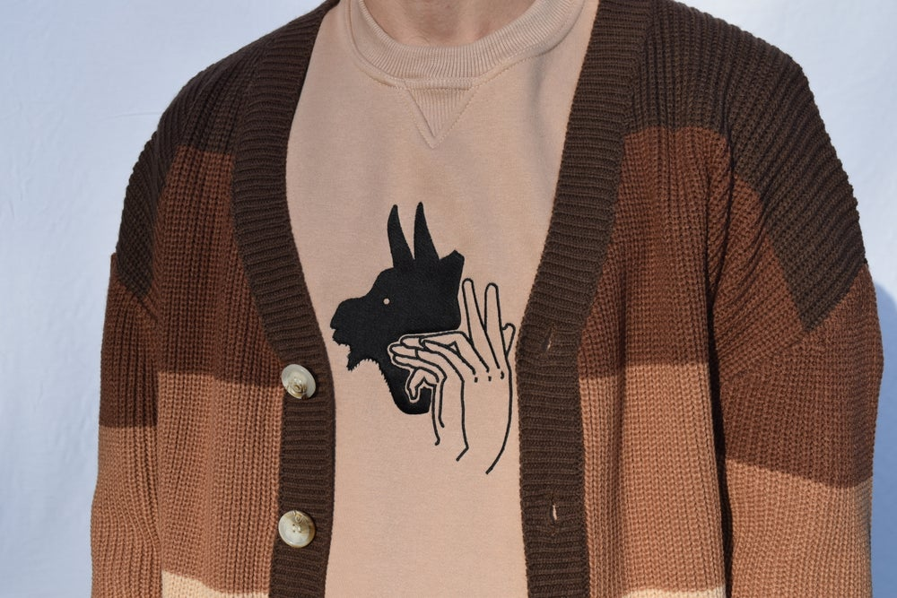 Image of Goat Shadow Puppet Sweater