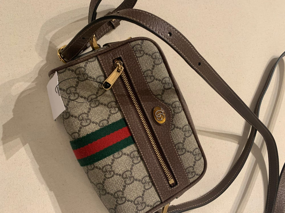 Image of GUCCI MONOGRAM MINI CROSSBODY