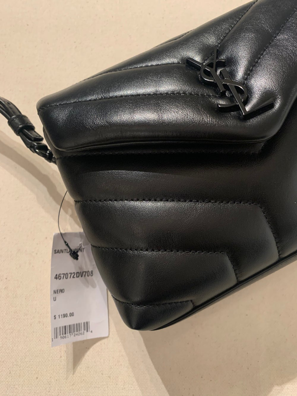 Image of YSL QUILTED CROSSBODY BAG