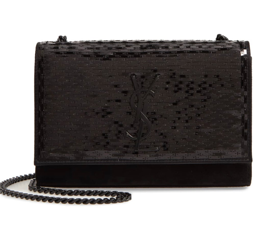 Image of YSL KATE PAILLETTE BAG