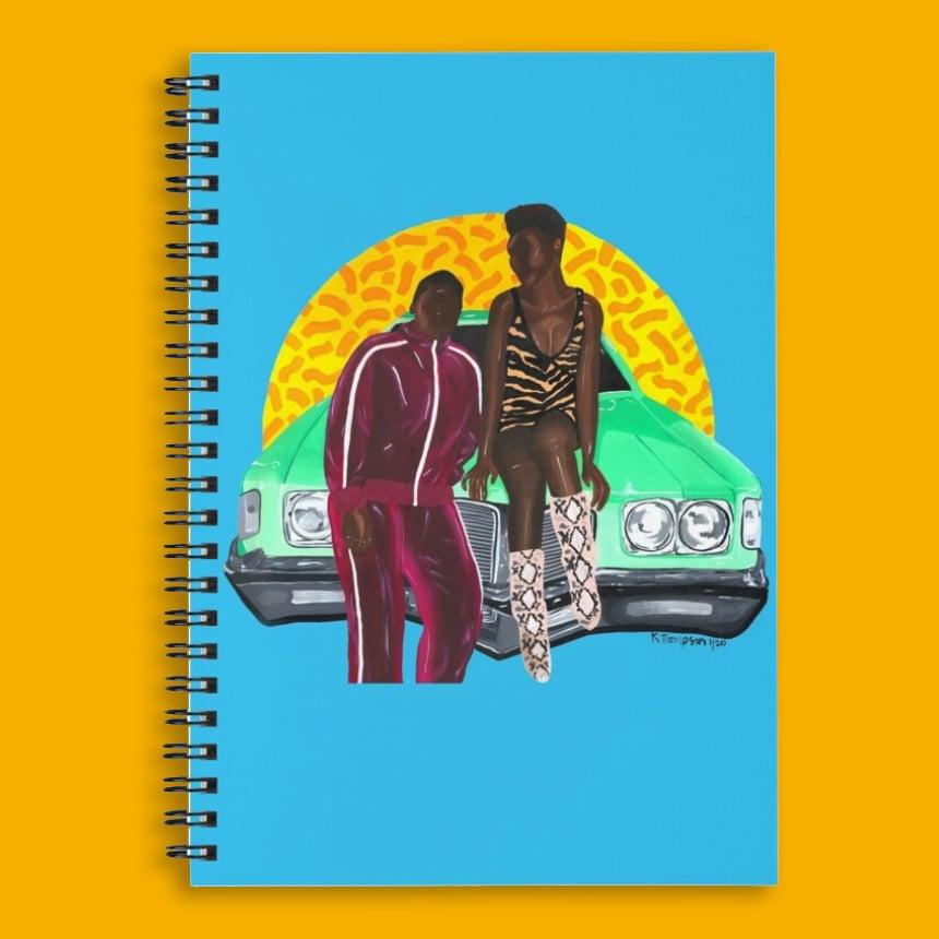 Image of Angela & Earnest (Notebook)