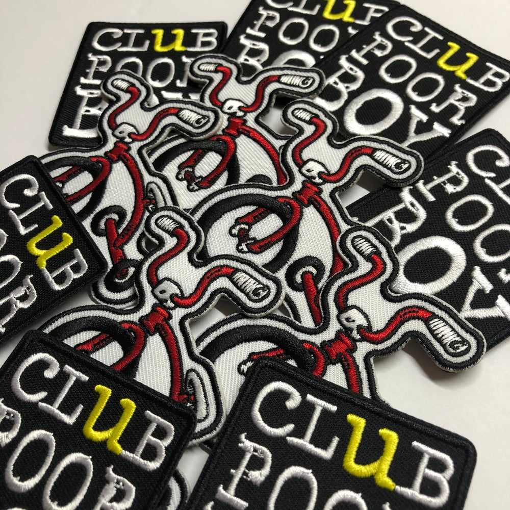 Image of CLUB POOR BOY PATCHES