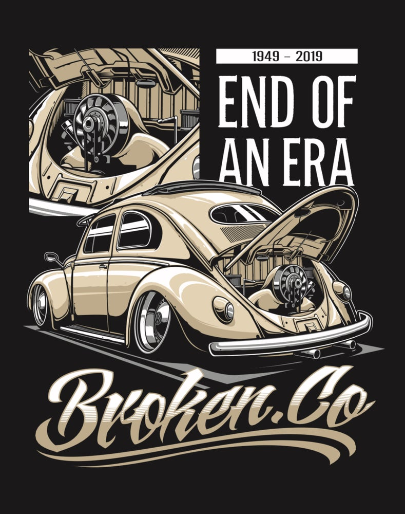 Image of Broken.co End Of An Era T-Shirt