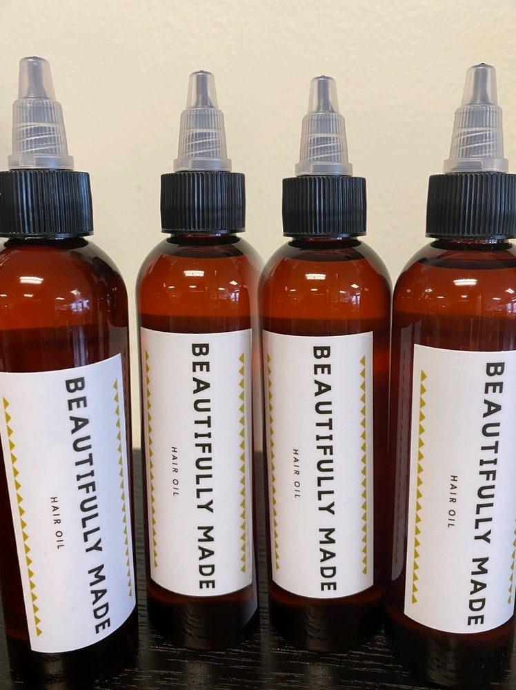 Image of Beautifully Made Hair Oil