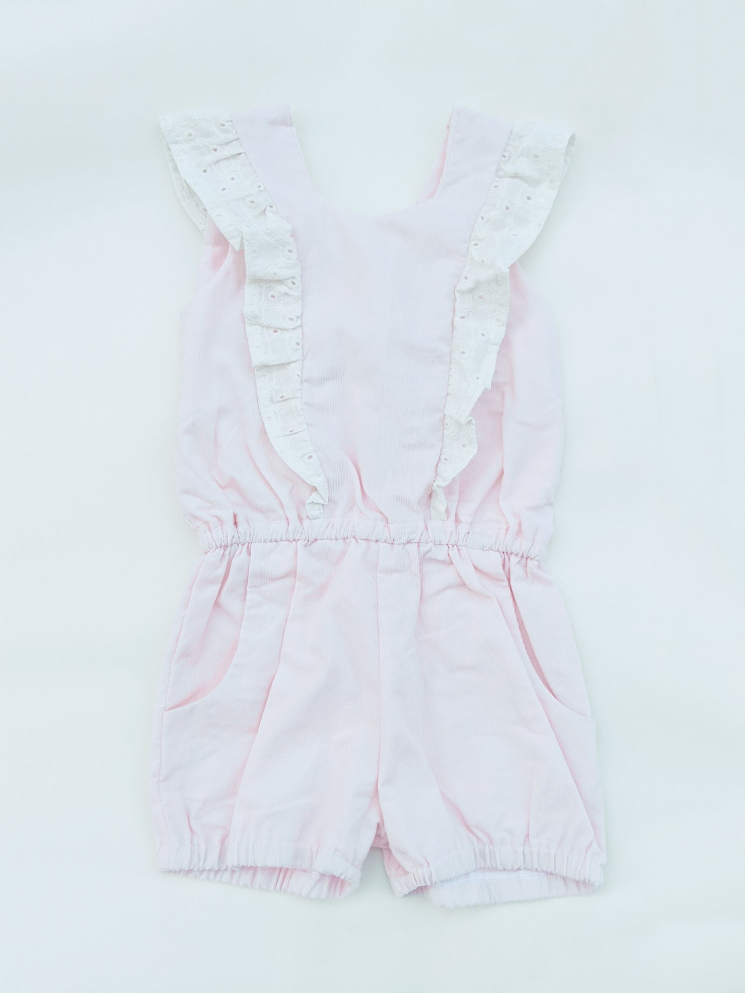 Image of Ruffle Playsuit - Shorties (Blush)