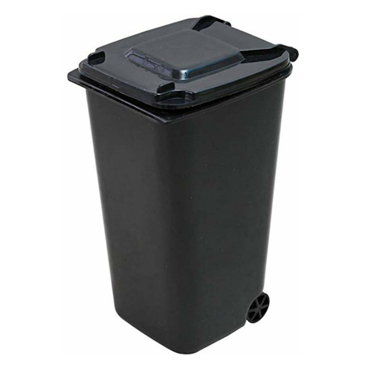Image of Black Desktop Trash Bin