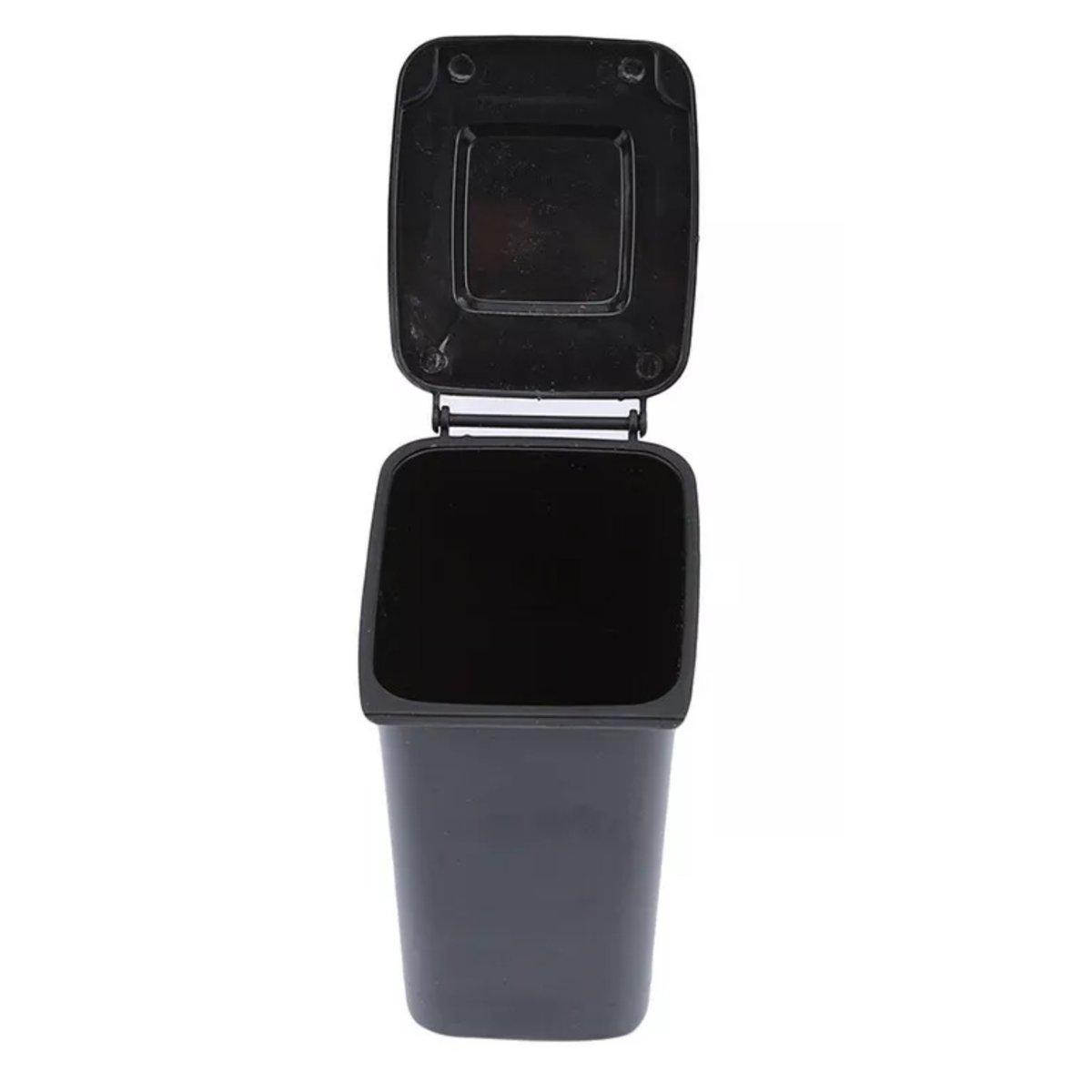 Image of Black Desktop Trash Bin