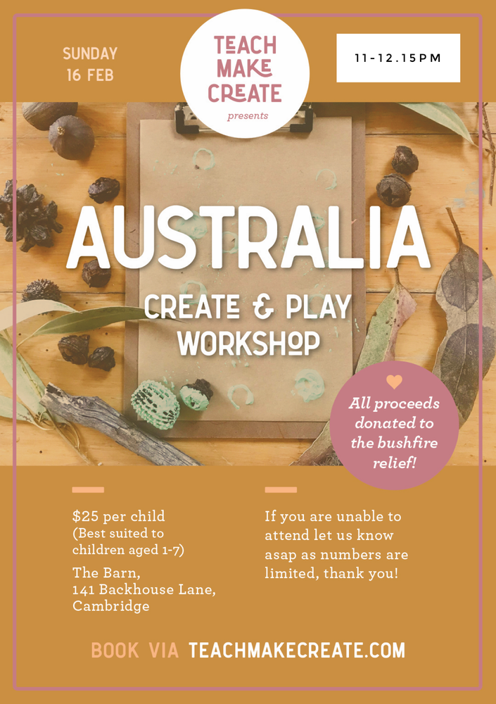 Image of  11-12.15pm session - Australia Create and Play