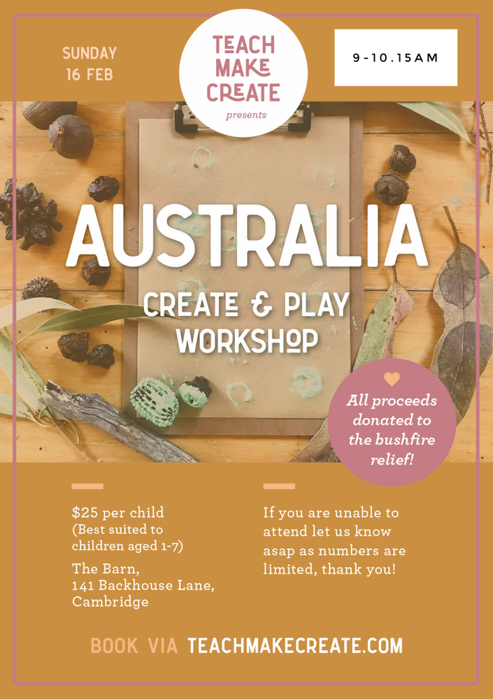 Image of 9-10.15am session - Australia Create and Play