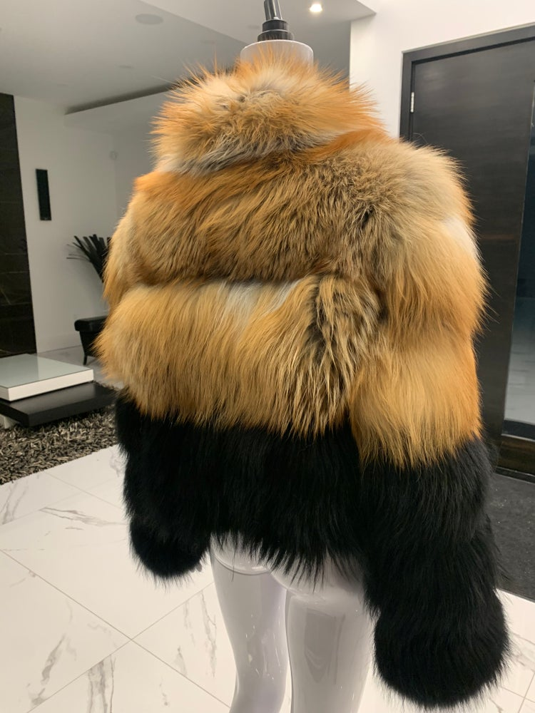 Image of Teresa Fox Fur Bomber