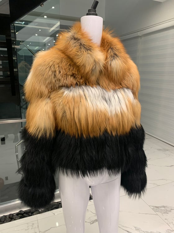 Image of Teresa Fox Fur Bomber