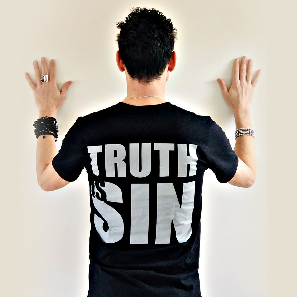 TRUTH IS SIN Mens T-Shirt