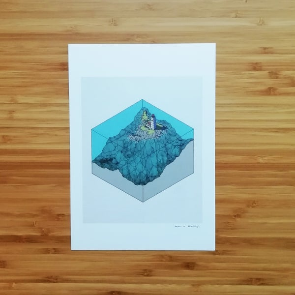 Image of Lighthouse - SIGNED PRINT