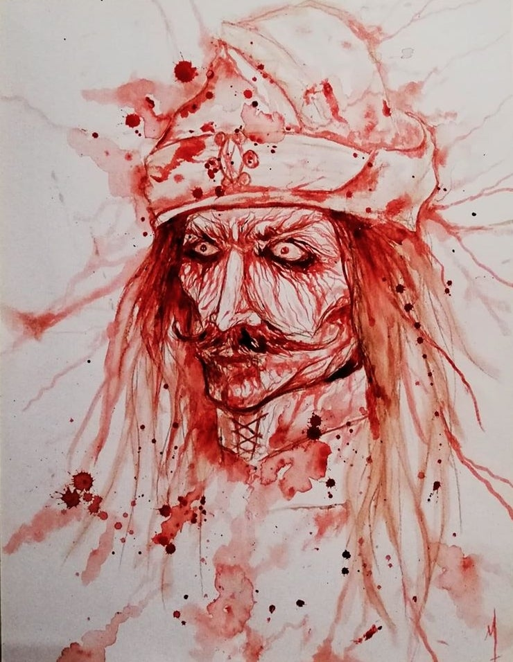Image of Vlad Tepes print limited to 30