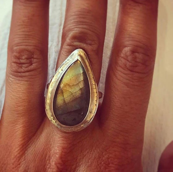 Image of Labradorite Gazing Ring