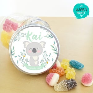 Image of Party Kit Koala Flower Impreso