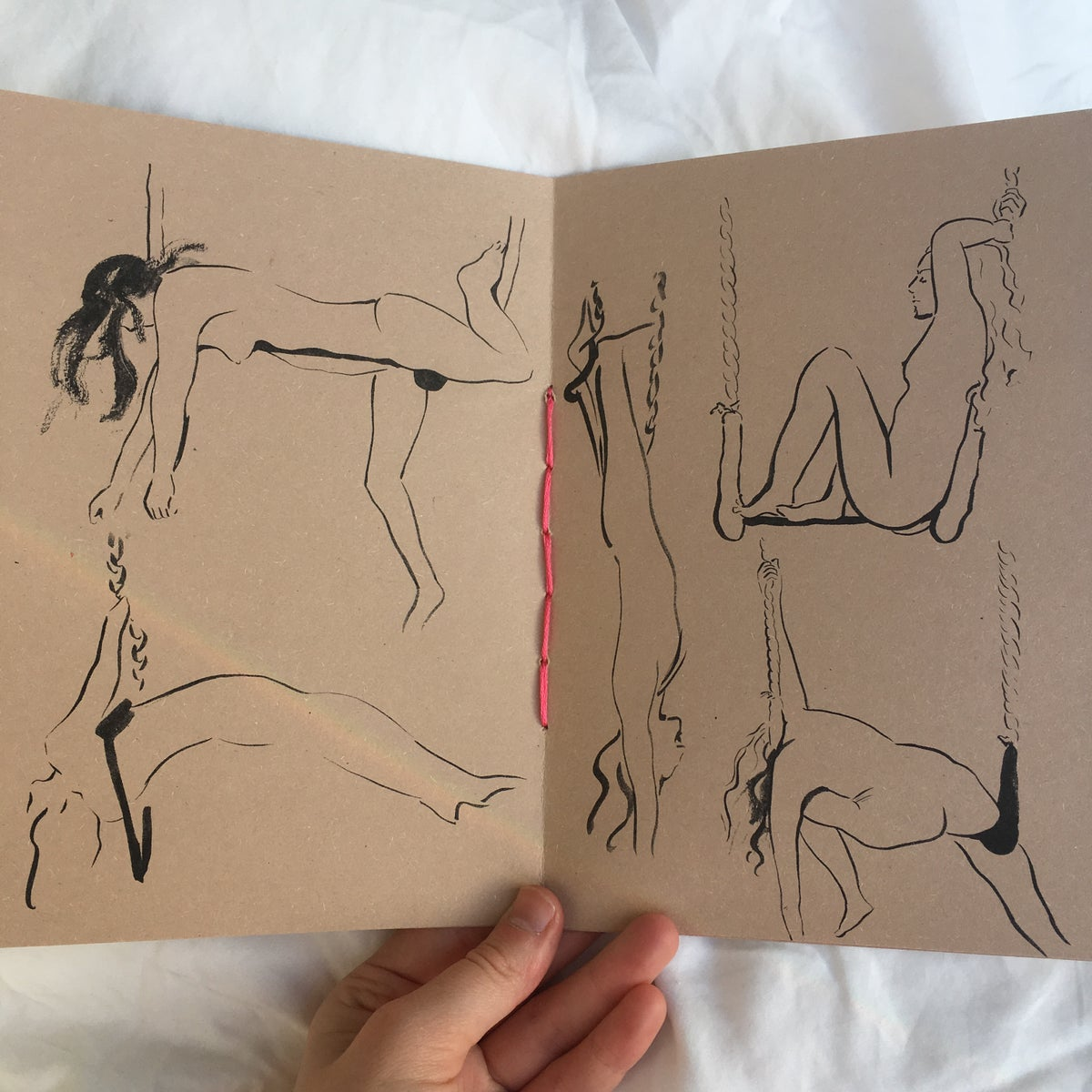 Image of Life Drawing Zine