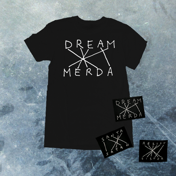 Image of DREAM MERDA CLASSIC BLACK T-SHIRT