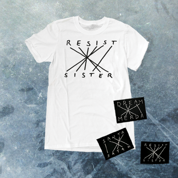 Image of RESIST SISTER CLASSIC WHITE T-SHIRT