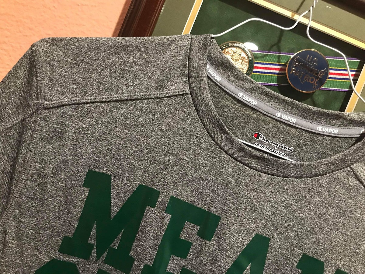 Image of MEAN GREEN HEAVY DUTY DRY FIT PERFORMANCE TEE