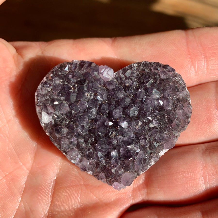 Image of Amethyst Hearts