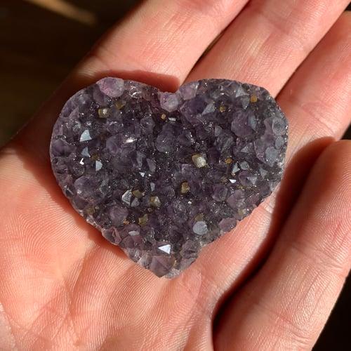 Image of Amethyst Hearts