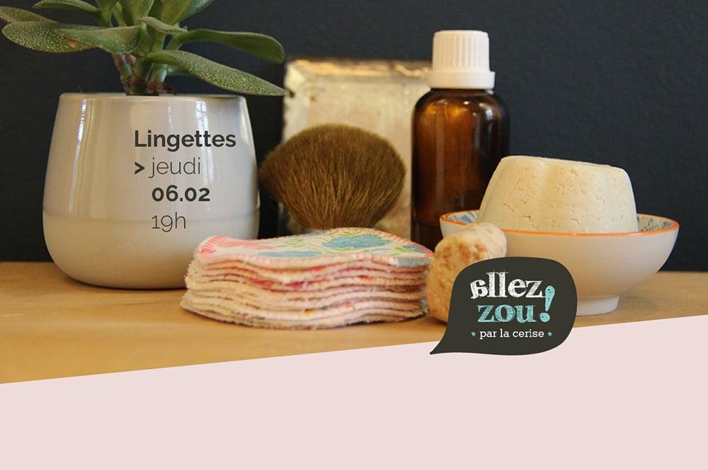 Image of Atelier lingettes démaquillantes - 06.02.2020 - Place #4