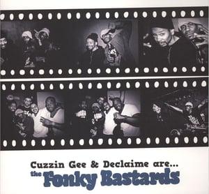 Image of Cuzzin Gee & Declaime - Fonky Bastards - LP (D'Akkord/A.U.D.D.A.)
