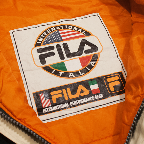 Image of Fila Vintage Winter Jacket Size XL