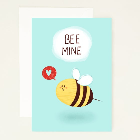 Image of Bee Card