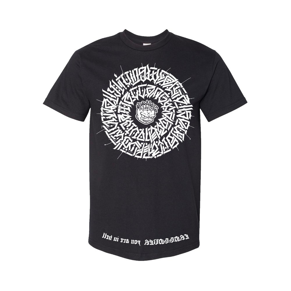 Image of The Secret Glyph of Wasteland Tee in Black
