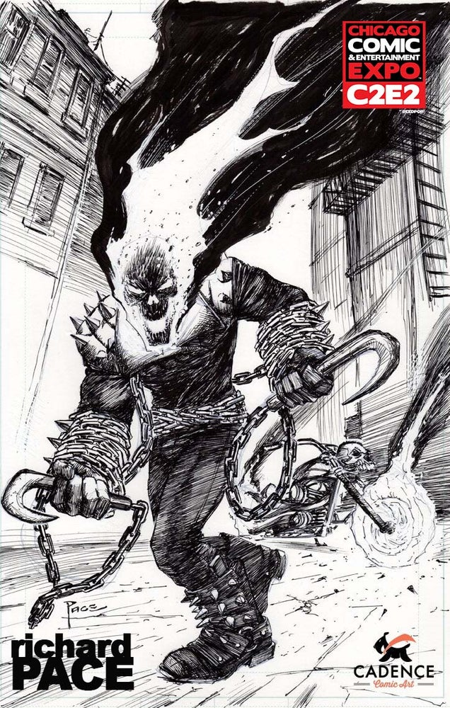 Image of Richard Pace Minneapolis C2E2 Pre-Show Commission (Mail Order Available)