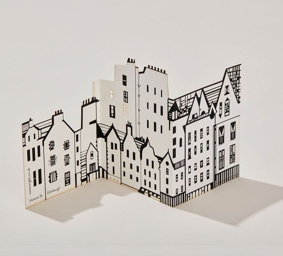 Image of Victoria Street fold out card
