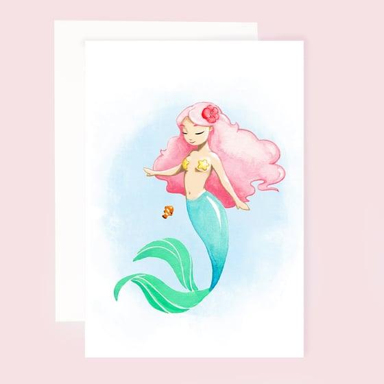 Image of MERMAID - GREETINGS CARD
