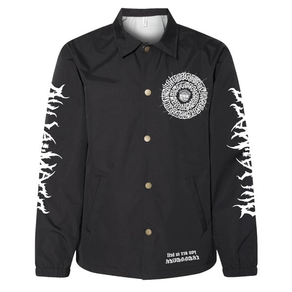 Image of The Secret Glyph of Wasteland - Warriorz Basketball jersey -  Coaches jacket