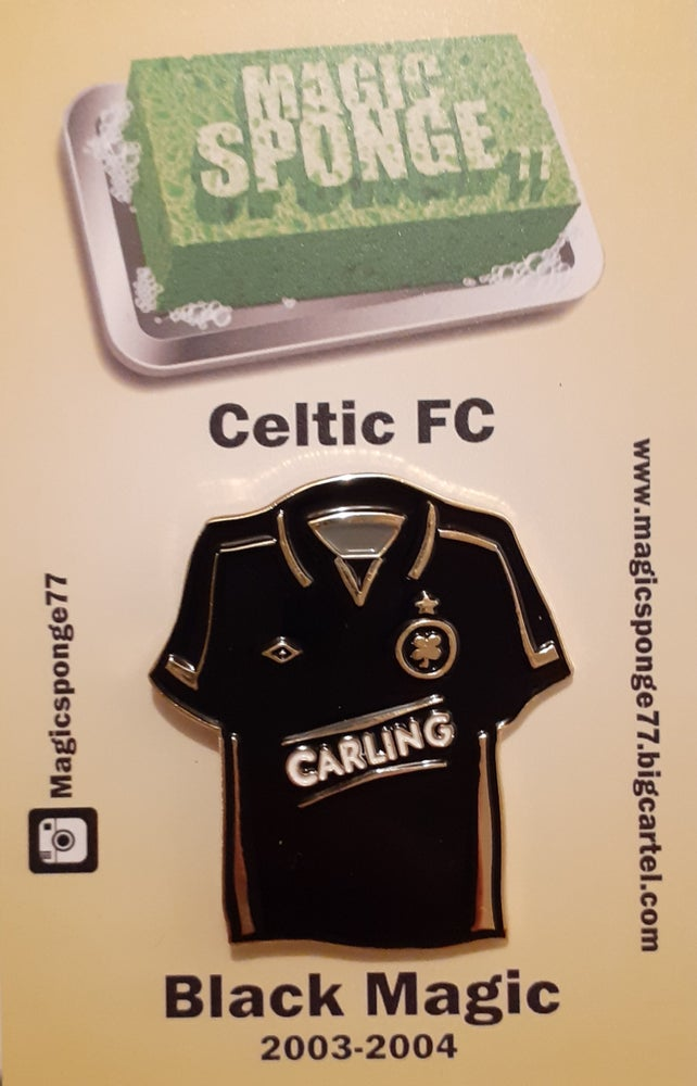 Image of Out Now Celtic FC Black Magic Kit Pin.